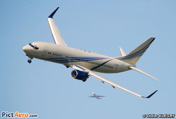 Boeing 737-8AW/BBJ2 (S Bugshan & Brothers / Bosco Avn Ltd)