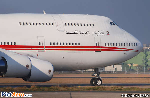 Boeing 747-433M (United Arab Emirates - Dubai Air Wing)