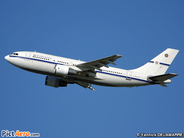 Airbus A310-222 (Belgium - Air Force)