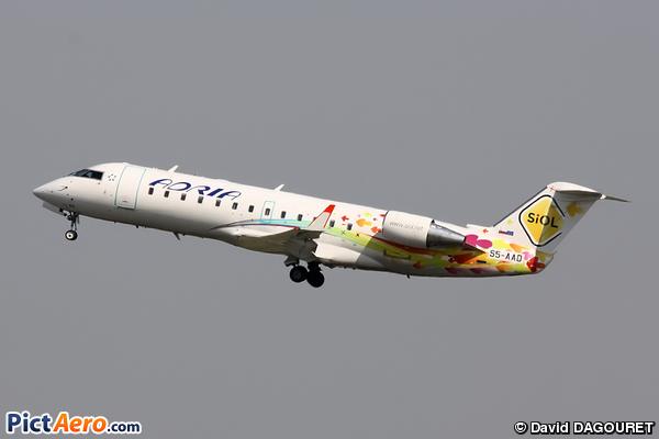 Bombardier CRJ-200LR (Adria Airways)