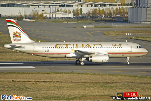Airbus A320-212 (Etihad Airways)