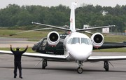Cessna 560 Citation V/Ultra/Encore (T-47/C-35) (OO-AIE)