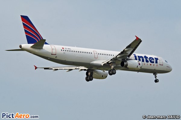 Airbus A321-231 (Inter Airlines)