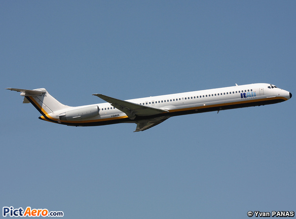 McDonnell Douglas MD-82 (DC-9-82) (ItAli Airlines)