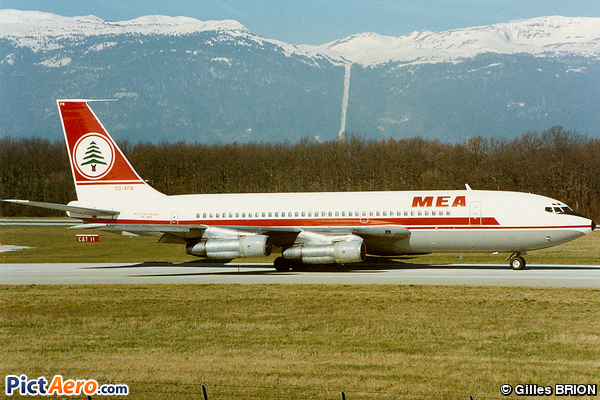 Boeing 720-023B (Middle East Airlines (MEA))