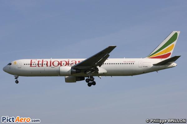 Boeing 767-3BG/ER (Ethiopian Airlines)
