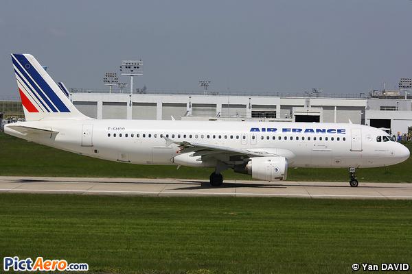 Airbus A320-211 (Air France)