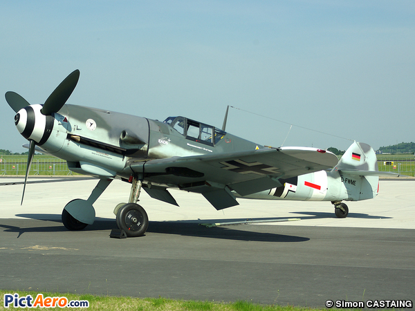 Messerschmitt Bf-109G-4 (Messerschmitt Air Company (MAC))