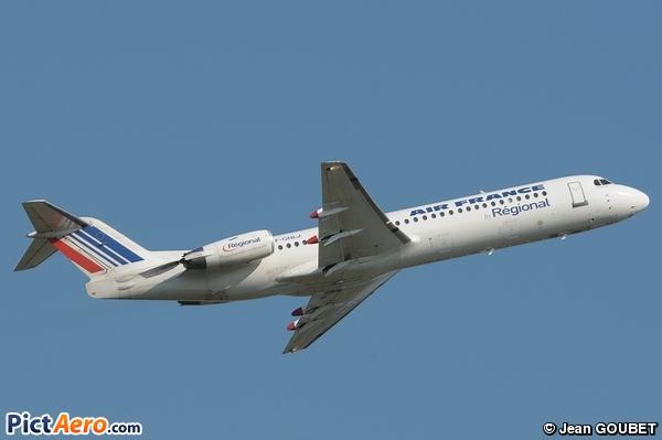 Fokker 100 de Regional