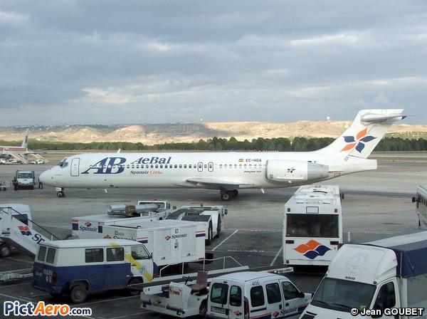 Boeing 717-2CM (AeBal - Spanair Link)
