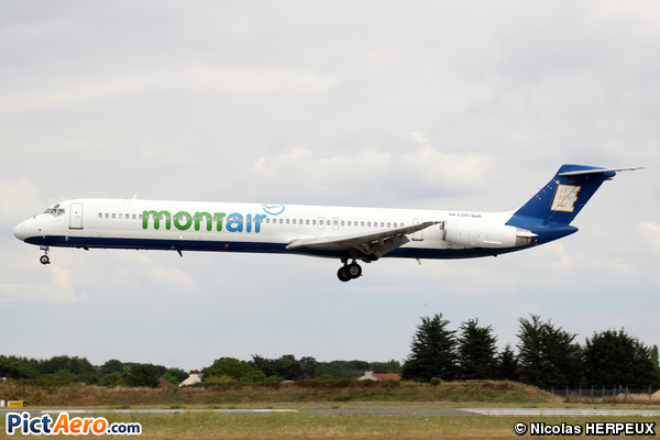 McDonnell Douglas MD-82 (DC-9-82) (Montair)