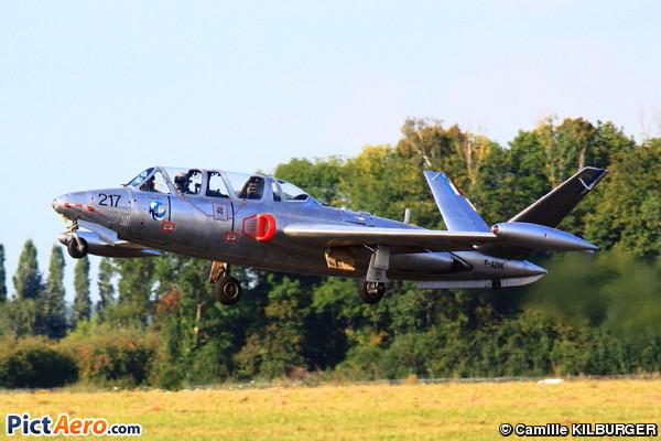 Fouga CM-170 Magister (Courtot Jean-Michel)