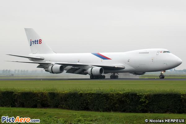 Boeing 747-2D3B (SF) (Jett8 Airlines Cargo)