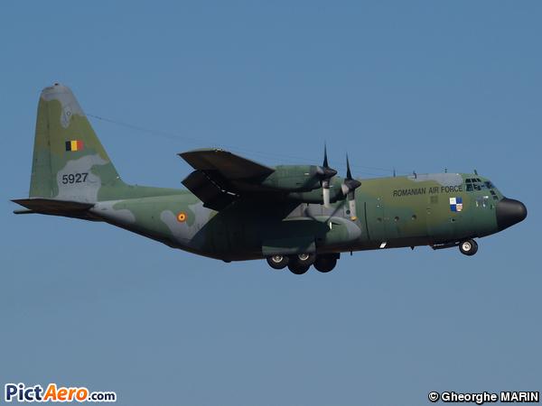 Lockheed C-130B Hercules (Romania - Air Force)