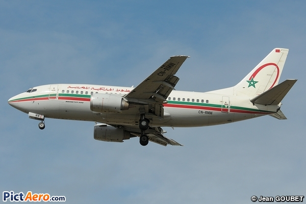 Boeing 737-5B6 (Royal Air Maroc (RAM))