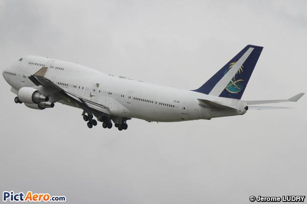 Boeing 747-468 (Saudi Arabia - Royal Flight)