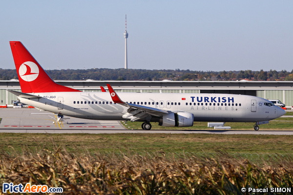 Boeing 737-8F2/WL (Turkish Airlines)