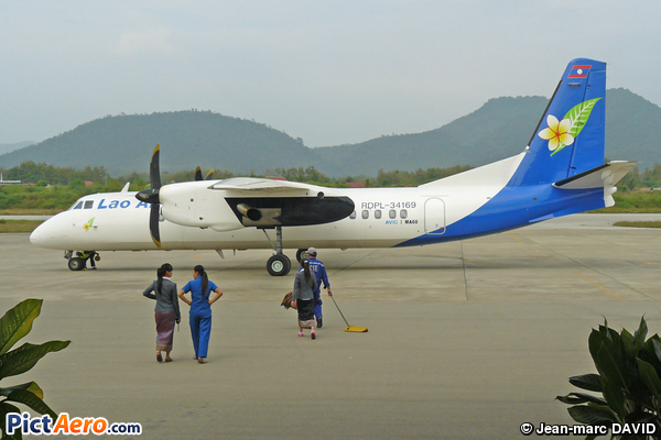 Xian MA-60 (Lao Airlines)
