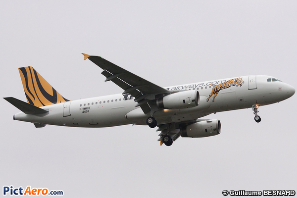 Airbus A320-232 (Tiger Airways)