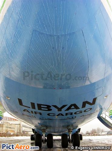 Antonov An-124-100 Ruslan (Libyan Arab Air Cargo)