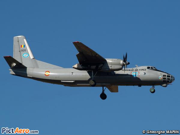 Antonov  An-30 (Romania - Air Force)