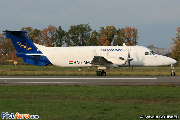 Beech 1900D (Farnair Europe Hungary)