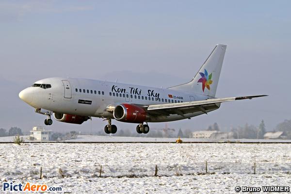 Boeing 737-529 (Kon Tiki Sky (MAT Airways))