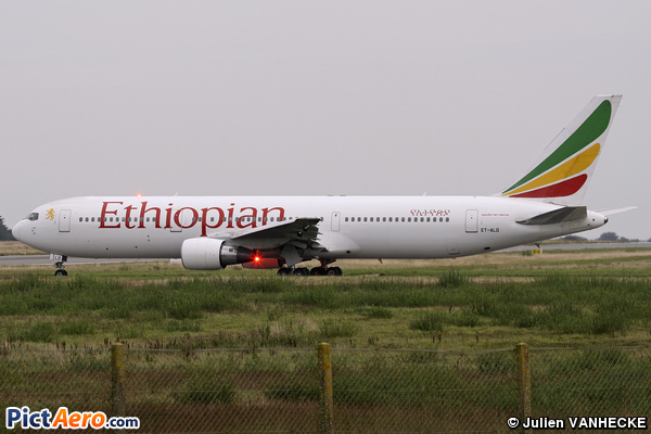 Boeing 767-360/ER (Ethiopian Airlines)