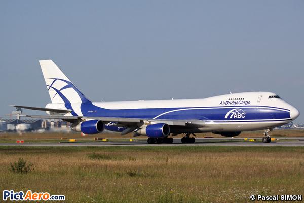 Boeing 747-281F/SCD (Air Bridge Cargo Airlines)