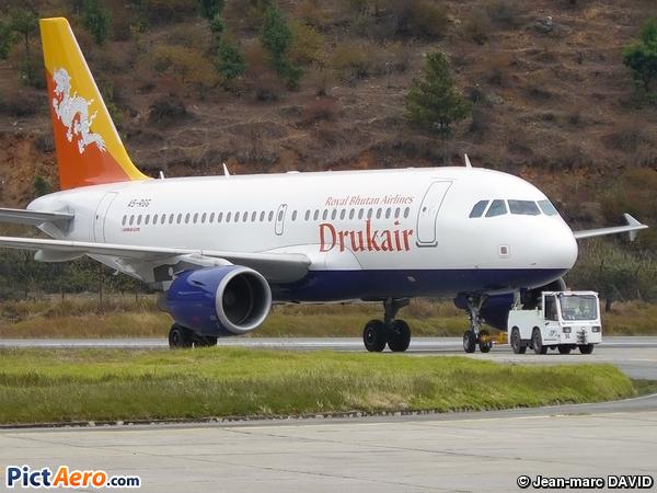 Airbus A319-115LR (Druk Air)