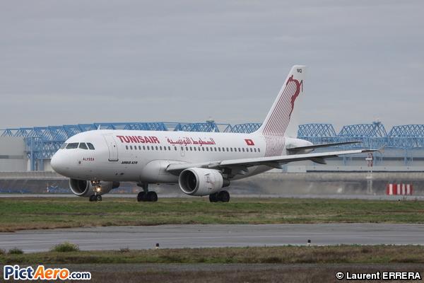 Airbus A319-112/ER (Tunisair)