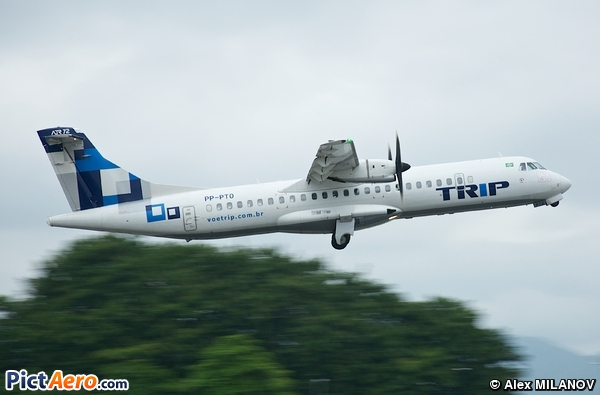 ATR 72-500 (ATR-72-212A) (TRIP Linhas Aéreas)