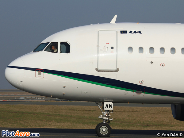 Airbus A319-132 (Olympic Air)