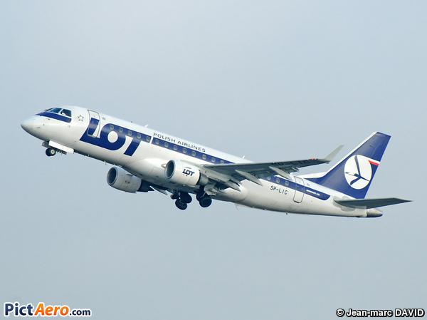 Embraer ERJ-175LR (LOT Polish Airlines)