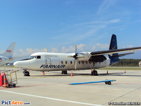 Fokker F-27-500F Friendship  (Farnair Europe Hungary)