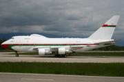 Boeing 747SP-27 (A4O-SO)