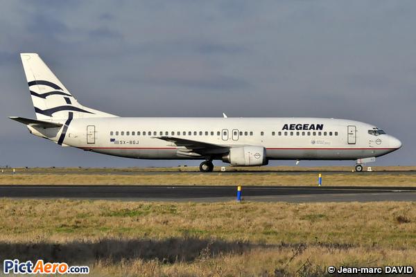 Boeing 737-4S3 (Aegean Airlines)