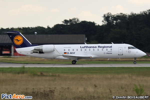 Bombardier CRJ-100LR (Lufthansa CityLine)