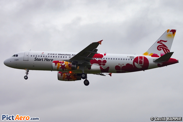 Airbus A320-232 (Shenzhen Airlines)