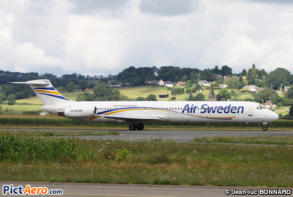 McDonnell Douglas MD-81 (DC-9-81) (Air Sweden)