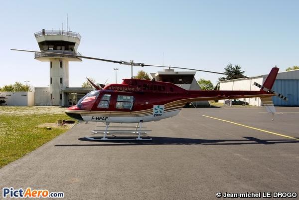 Agusta-Bell AB-206B-3 JetRanger III (Touraine Hélicoptère SA)