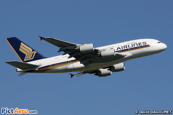 Airbus A380 Singapore Airlines 9V-SKE