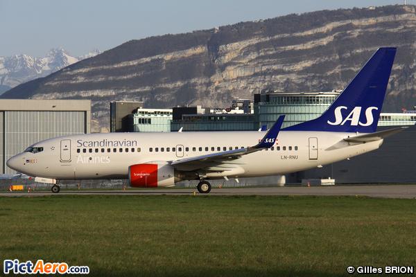 Boeing 737-783/WL (Scandinavian Airlines (SAS))