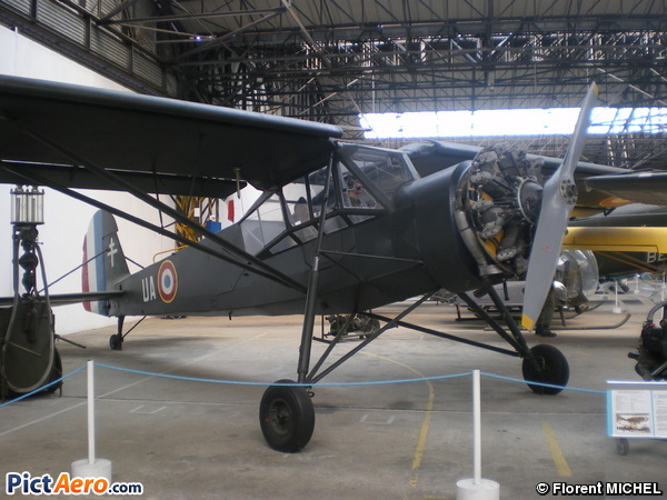 Morane-Saulnier MS-505 Criquet (Musée de l'ALAT de Dax)