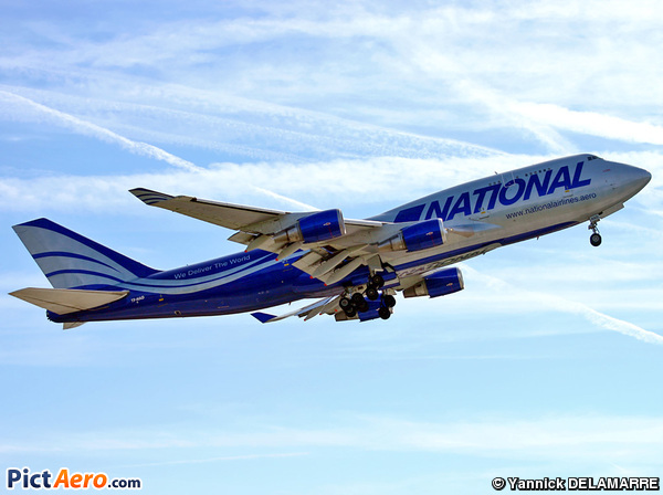 Boeing 747-428/BCF (National Airlines)