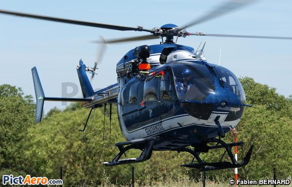 Eurocopter EC-145 B (France - Gendarmerie)