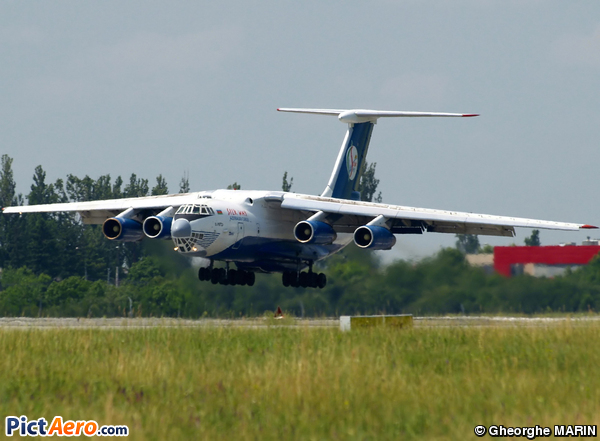 Ilyushin IL-76TD (Silk Way Airlines)