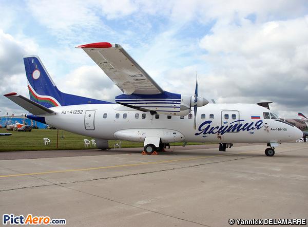 Antonov An-140-100/K (Yakutia Airlines)