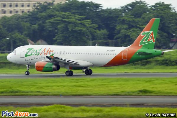 Airbus A320-232 (Zest Air)