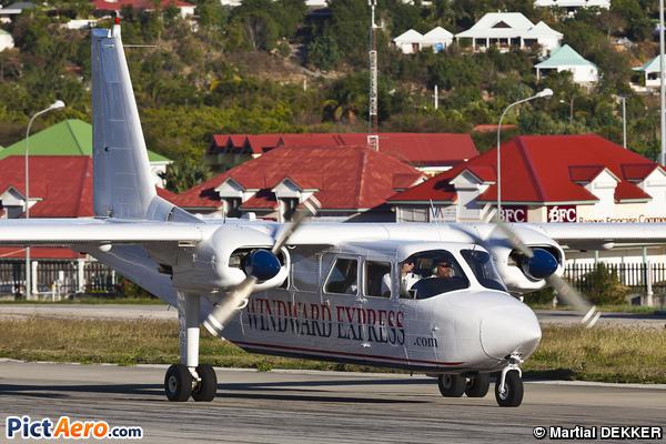 Britten-Norman BN-2A-21 Islander (Winair - Windward Islands Airways)